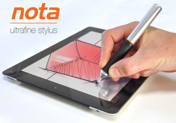 Nota Ultrafine Tip Stylus for iPad and Android Tablets