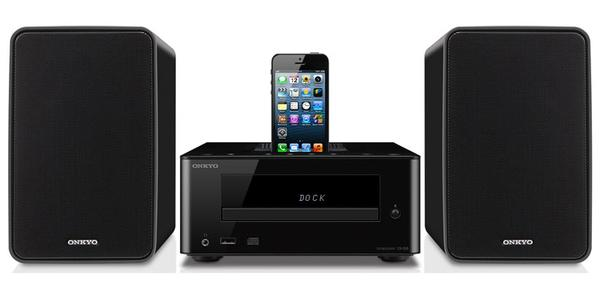 Onkyo SC-255 CD Hi-Fi Mini Speaker System with iPhone Dock