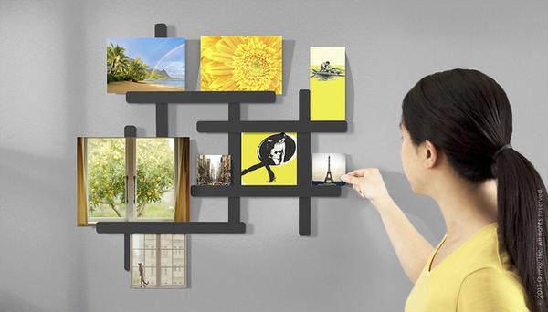PicFit Adjustable Wall Mounted Photo Frame