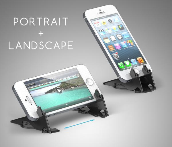 Pocket Tripod Portable iPhone Stand