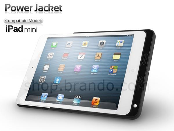 Power Jacket iPad Mini Battery Case