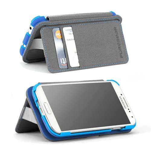 PureGear Folio with Kickstand Galaxy S4 Case