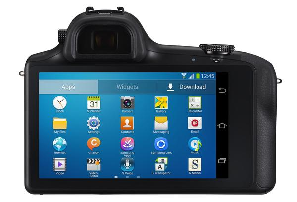 Samsung Galaxy NX Interchangeable-Lens Mirrorless Camera