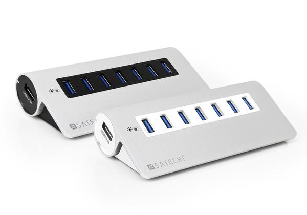 In wall usb hub
