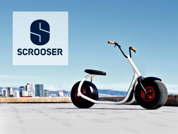 Scrooser A Unique Eco-Friendly City Scooter