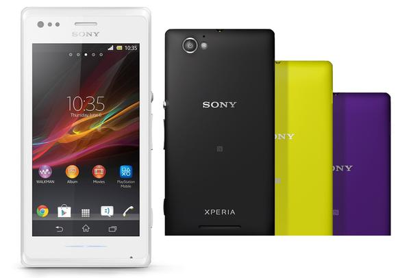 Sony Xperia M Android Phone Announced