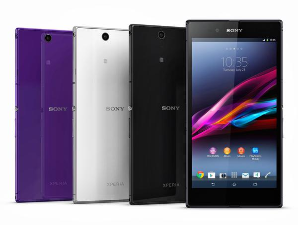 Sony Xperia Z Ultra Android Phone Announced