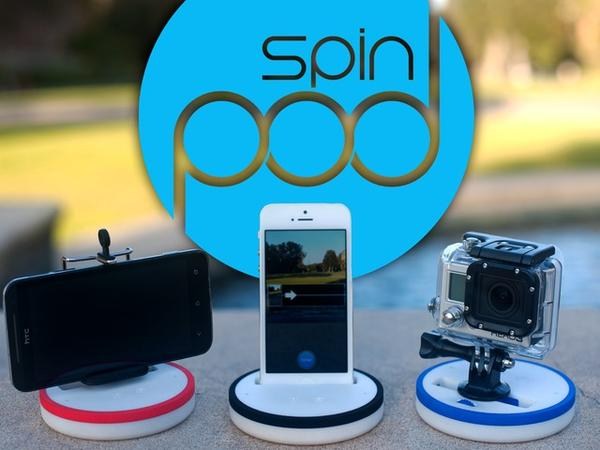 Spinpod Motion Control Stand for Seamless Panoramic & Time-Lapse Photography