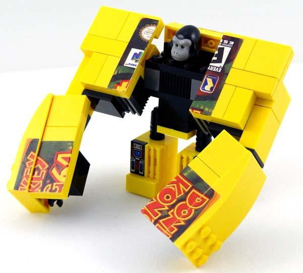 The Amazing LEGO Nintendo 64 Transformers