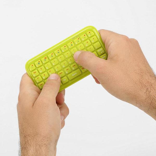 The Colored Mini Bluetooth Keyboard