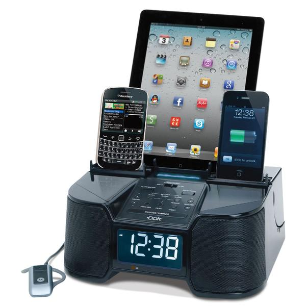 The Docking Station with 6 USB Ports and Stereo Speakers