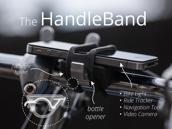 The HandleBand Universal Bike Mount