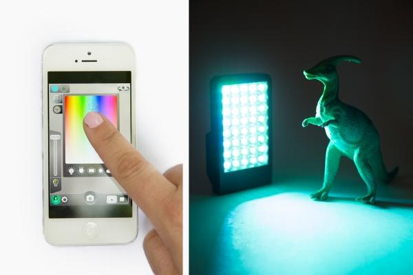 The Kick App Controlled LED Light Source