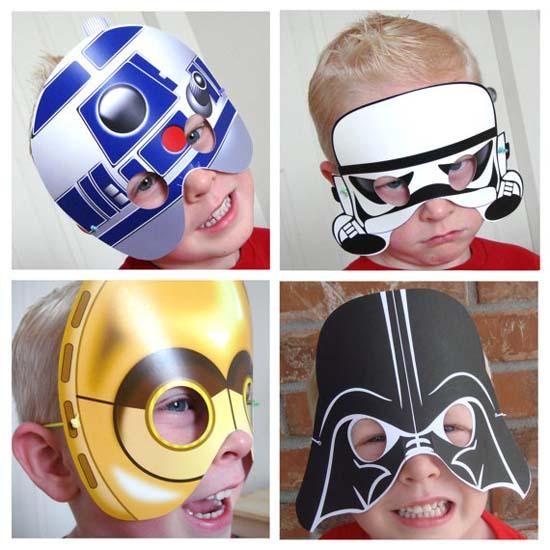 picture regarding Star Wars Printable Masks identified as The Star Wars Printable Masks Gadgetsin