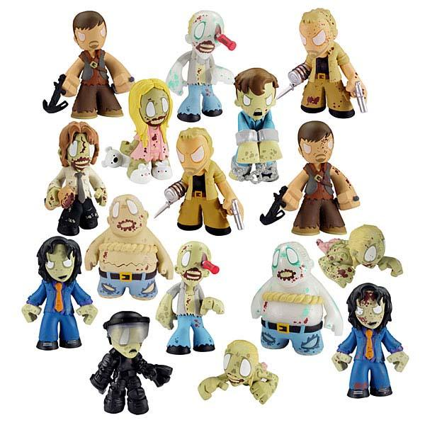 The Walking Dead Mystery Mini Figures