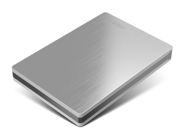 Toshiba Canvio Slim II Portable External Hard Drive
