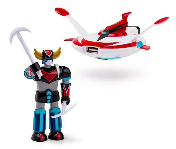 UFO Robot Grendizer USB Flash Drive with Saucer Docking Station
