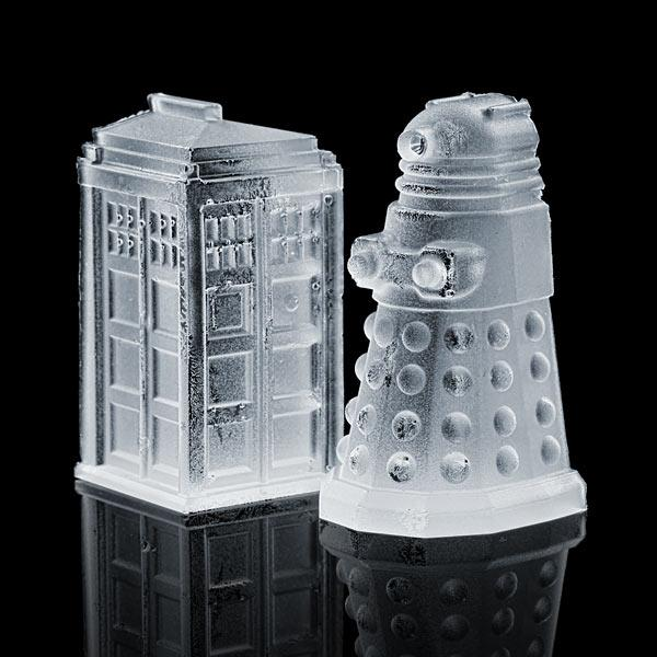 Doctor Who Themed Ice Cube Tray
