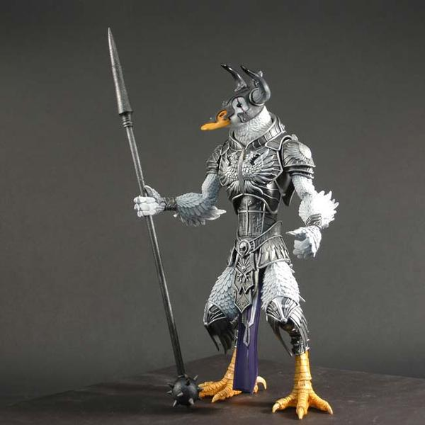Gothitropolis Raven Action Figures