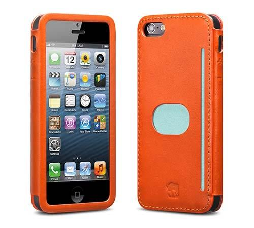 id America Wall Street Leather iPhone 5 Case