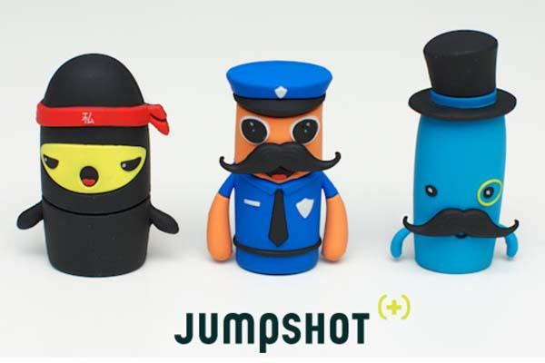 Jumpshot USB Drive and Security Guard