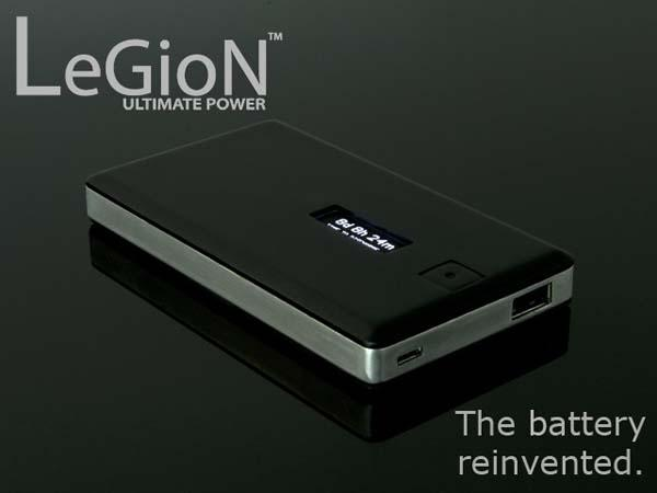 Legion Backup Battery with OLED Display
