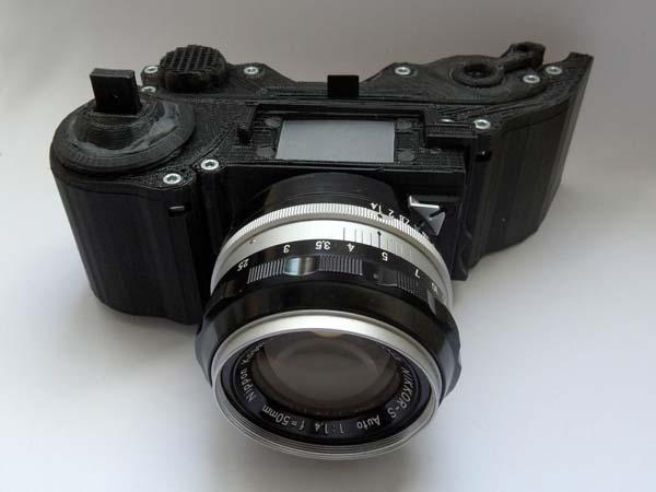 Make Your Own 3D Printed SLR Camera