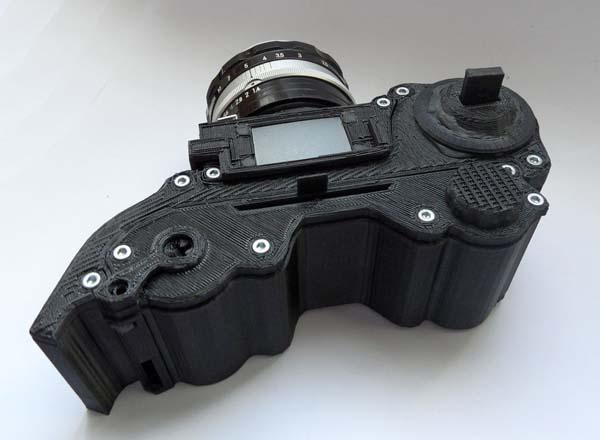 Make Your Own Car >> Make Your Own 3D Printed SLR Camera | Gadgetsin