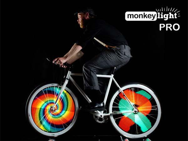 Monkey Light Pro Bicycle Wheel Light System