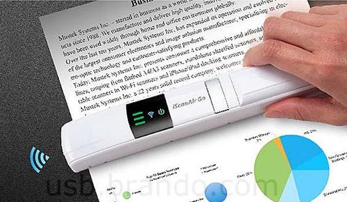 Mustek iScanAir Go Handheld Wireless Scanner