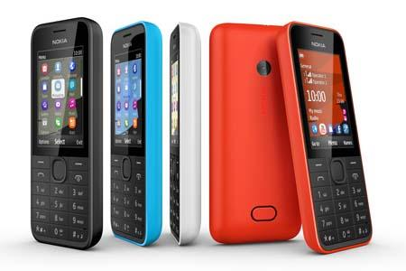 Nokia 207 and Nokia 208 Cell Phones Announced