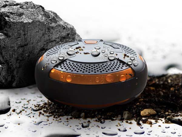 Panasonic SC-NT10D Waterproof Bluetooth Wireless Speaker with NFC