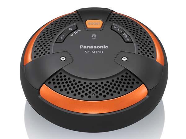 Panasonic SC-NT10D Waterproof Bluetooth Wireless Speaker with NFC