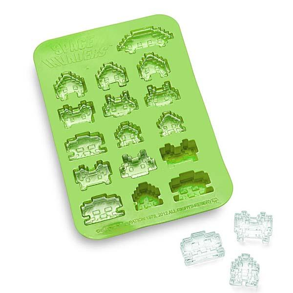 Space Invaders Inspired Ice Cube Tray