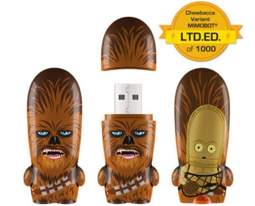 Star Wars Chewbacca Variant Mimobot USB Drive