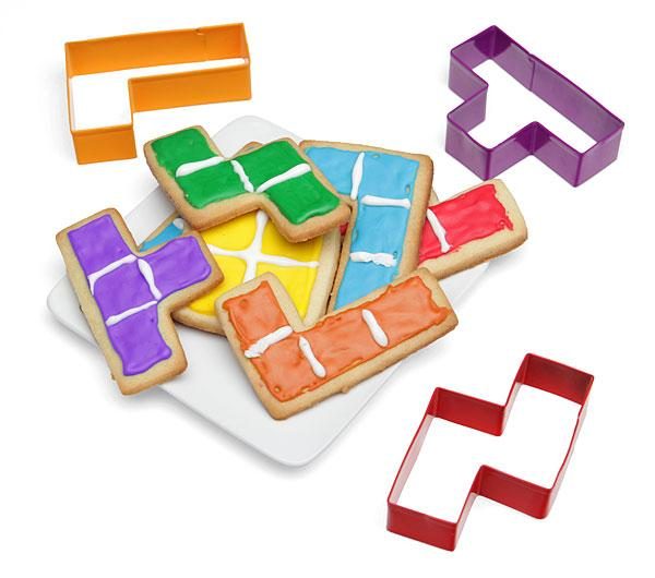 Tetris Cookie Cutter Set