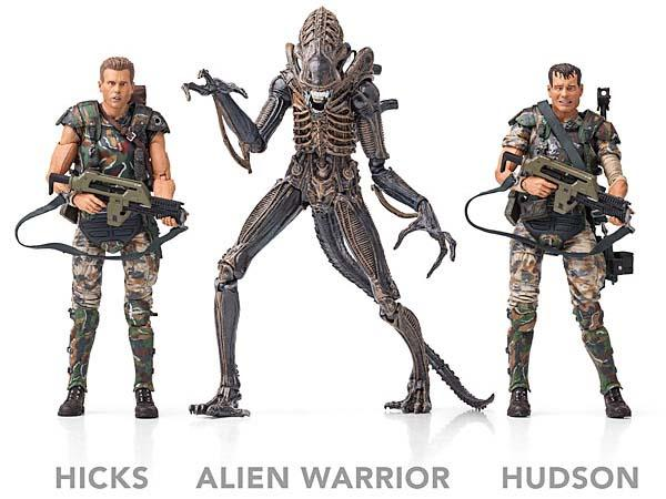 The Aliens Action Figures