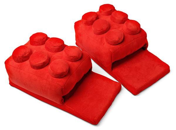 The Building Brick Slippers