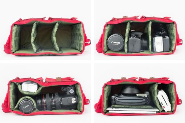 The Cambridge DSLR Camera Bag