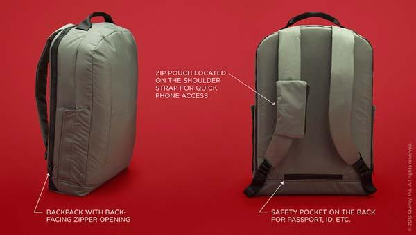 The Defender Anti-Theft Backpack
