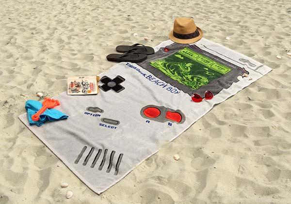 The Gameboy Inspired Beach Boy Towel
