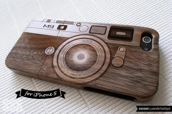 The Handmade Camera Styled iPhone 5 Case