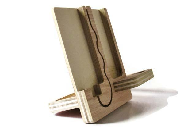 The Handmade Wood iPhone Dock