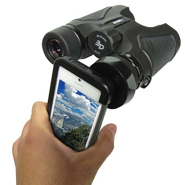 The iPhone 5 Binocular Adapter