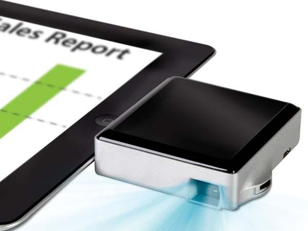 The Pocket Sized Pico Projector for iOS Devices