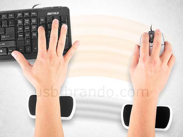 The Rolling Wrist Rest