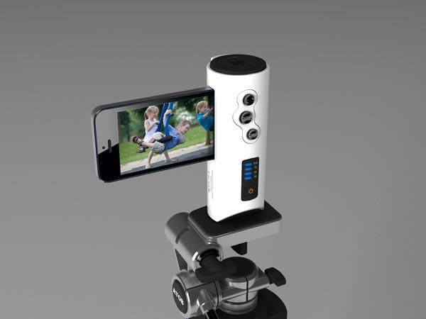 The Shutter Release Grip with Backup Battery for iPhone