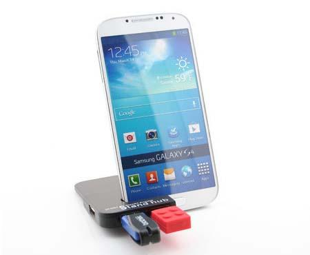 The USB Hub with Phone Stand