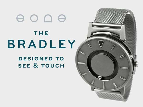 Touch Time via the Bradley Wrist Watch