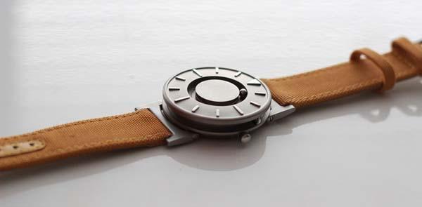 Touch Time via the Bradley Wrist Watch